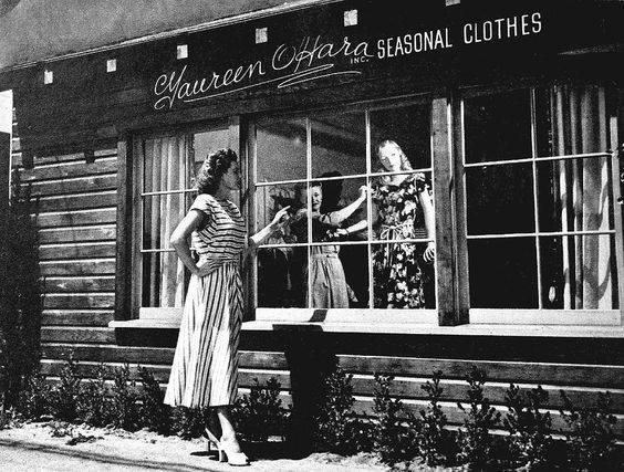 Maureen O'Hara's Seasonal Clothes