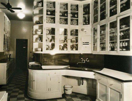 Kitchen in Marion Davies' Beach House