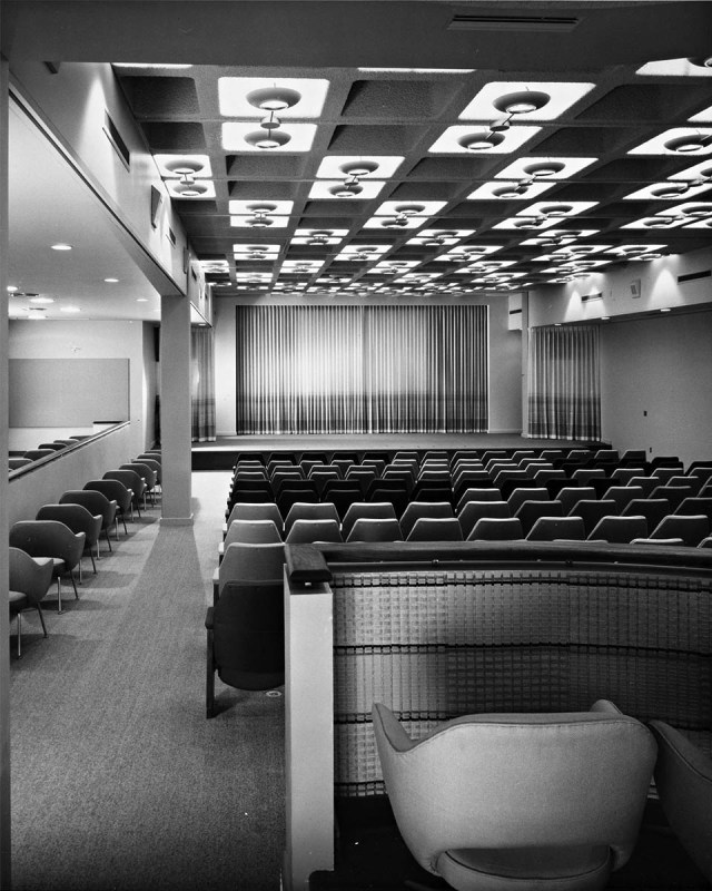 Museum of Motion Pictures and auditorium, Lytton Center, Sunset Blvd, 1962 - 6