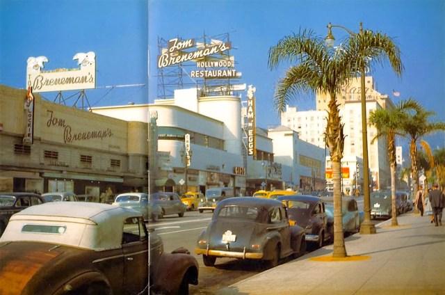 Tom Breneman's Hollywood Restaurant, Vine Street, Hollywood, 1947