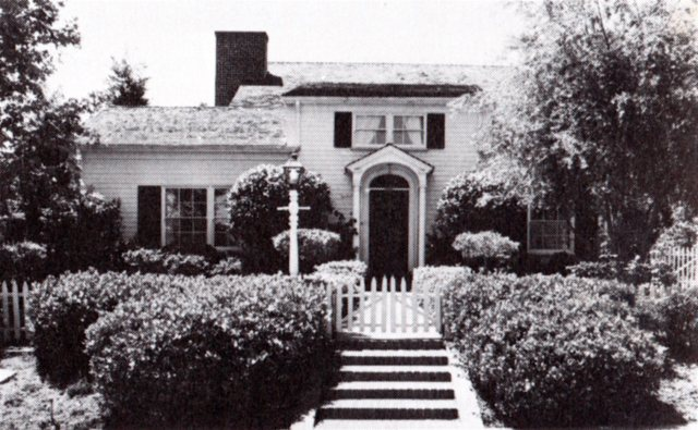 515 N. Canon Drive, one of the original model homes in Beverly Hills, California