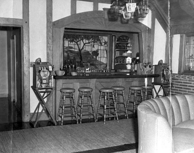 Bugsy Siegel's bar at 250 Delfern Dr, Holmby Hills