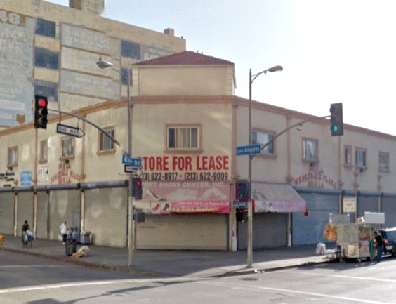 Greyhound Depot, downtown Los Angeles, March 2015