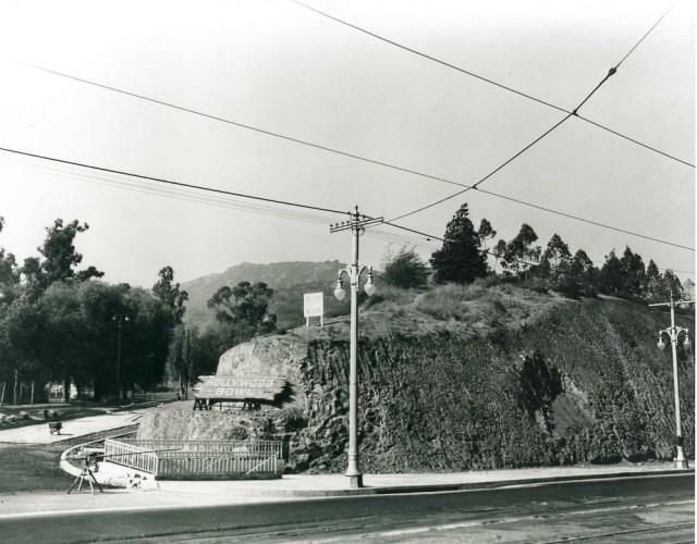 Hollywood Bowl entrance, pre 1940