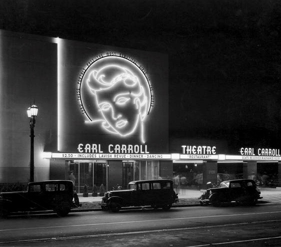 Earl Carroll Theater on Sunset Blvd - $2.50 for lavish revue dinner and dancing.jpg