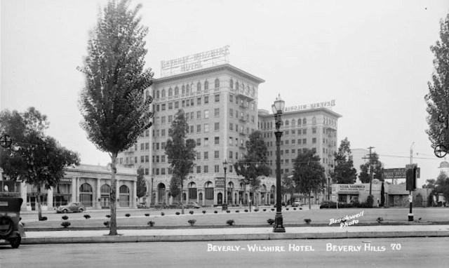 Beverly Wilshire Hotel, Beverly Hills, circa 1930
