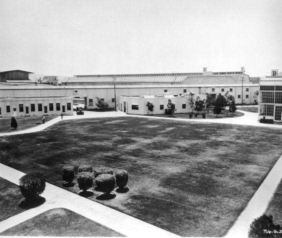 MGM Studios a year after the merger, 1925