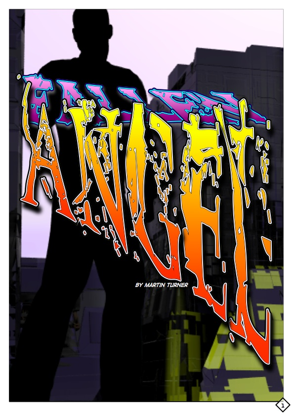 Cover for the graphic novel Fallen Angel