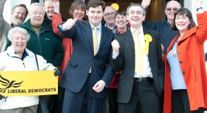 Launching the election campaign May 2010
