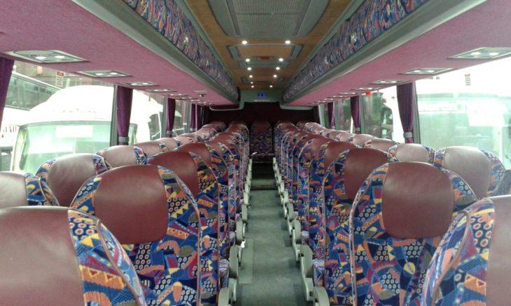 luxury coach hire interior | coach hire | double decker bus hire Cork | double decker bus hire Munster