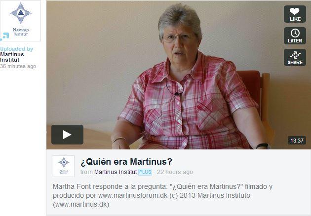 Introduktionsvideo på spansk