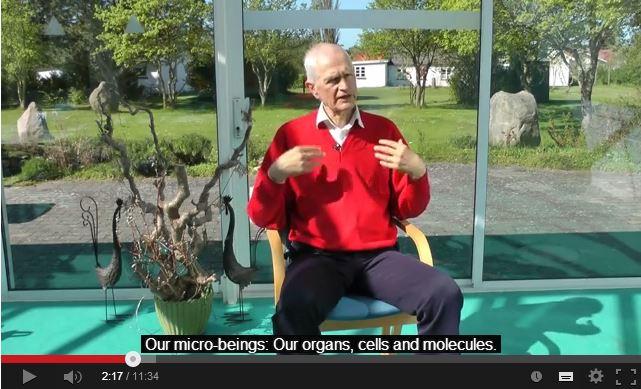 Kort videoklip på fransk om Martinus Kosmologi