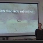 Den skapande människan – föredrag av Anne Külper