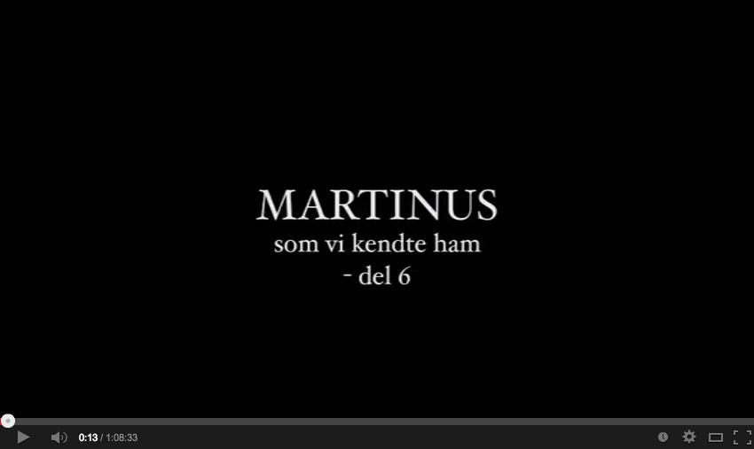 Martinus – som vi kendte ham VI – De tidlige år