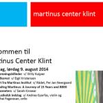 Program for Martinus Mindedag 2014