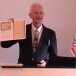Tale om Martinus 6. symbolbog, Det Evige Verdensbillede 6 – af Ole Therkelsen