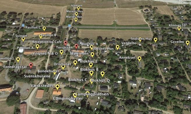 Martinus Center Klint google earth map