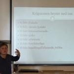 Från krig till fred – Föredrag av Karin Jansson