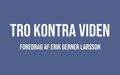Foredrag af Erik Gerner Larsson på YouTube
