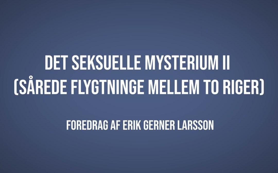 Det seksuelle mysterium II | Erik Gerner Larsson | Martinus Verdensbillede