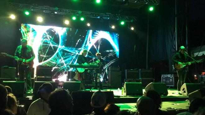 Slowdive live at Fortress Festival