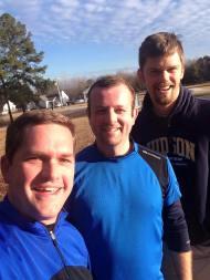 Running with Barnett and Barbar