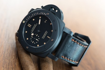 Panerai PAM508 with Tri fold leather strap
