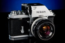 Nikon F with FTN finder