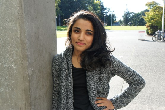 Gurkiran Dhillon (Fourth-year English). Photo provided by Sarah Lazin, Staff Writer.