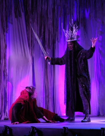 Blue Bridge Theatre's run of The Scottish Play (MacBeth) until May 17. Photo by Laurin Kelsey