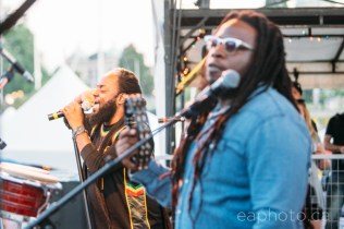 Morgan Heritage closed the third night of Ska Fest at Ship's Point. (Photo by Aaron McMillan)