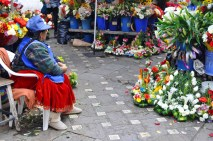 The flower market in Cuenca ranks as one of National Geographic's top 10 outdoor flower markets in the world. Here you can purchase beautiful bouquets for $2 or $3 or sit and people-watch for hours.