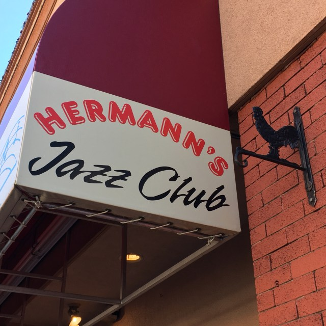 Hermann's Jazz Club has been a Victoria institution for 35 years, but it's now under threat of closure. Photo by Myles Sauer, Editor-in-Chief