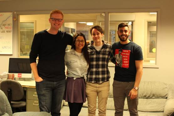 The Envision Slate members, pictured here, are running in the 2018 UVSS election.