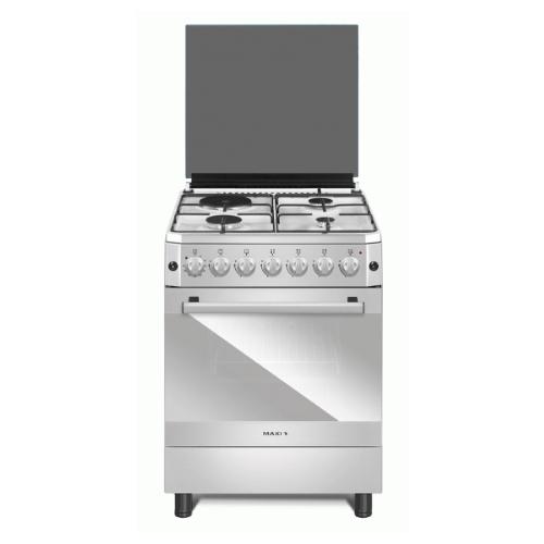 MAXI Gas Cooker 60*60 (3+1) INOX PLUS