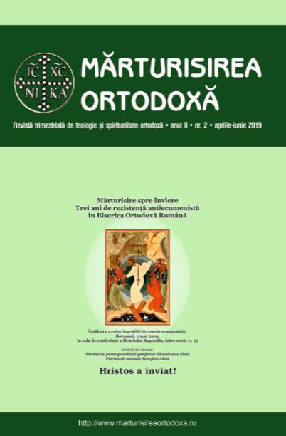 A apărut revista Mărturisirea Ortodoxă, an II, nr. 2