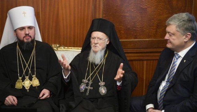 Pentru cei care nu sunt conștienți: Conducătorul Fanarului consideră BOaU schismatică o binecuvântare pentru Ucraina