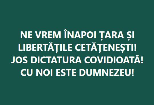Primarul Municipiului Piatra Neamț ne interzice DIN NOU organizarea unui protest pașnic, în data de 20 martie 2021