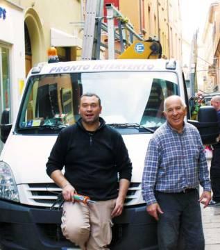 Graziano e Luca Martuzzi | Vetreria Artigiana Martuzzi