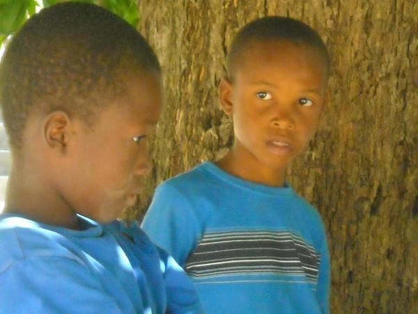 Haitian kids February 2010