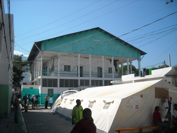 Pediatric hospital Port-au-Prince Red Cross hospital