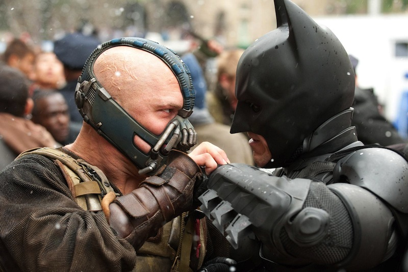 Dark Knight Rises Bane Batman