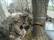 female in combat