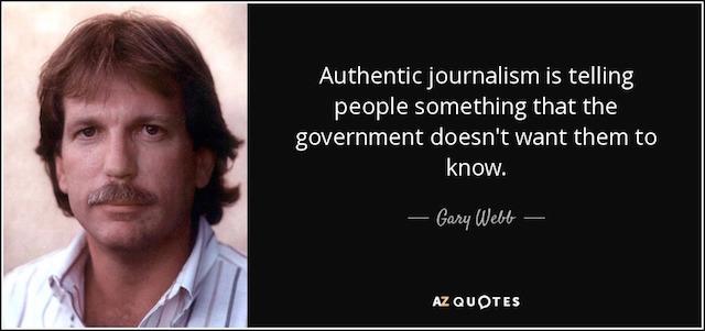 Gary Webb quote