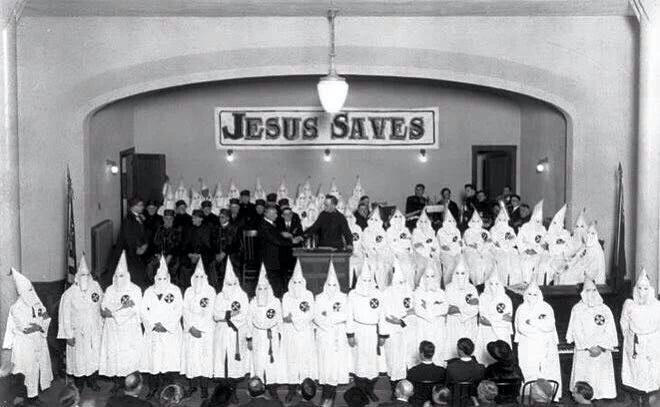 Royal Riders of the Red Robe Ku Klux Klan Portland