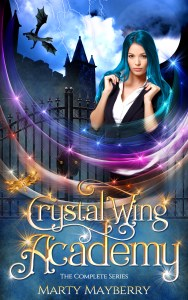 Book Cover: Crystal Wing Academy: The Complete Series