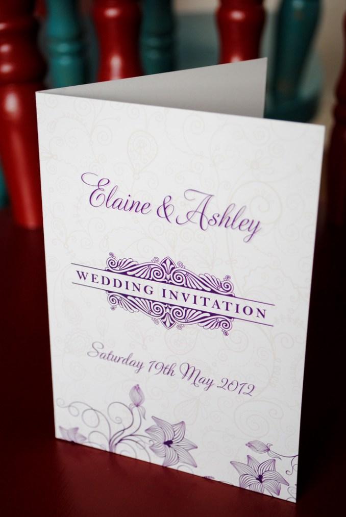 Kozo Wedding Invitations Belfast | Newsinvitation.co