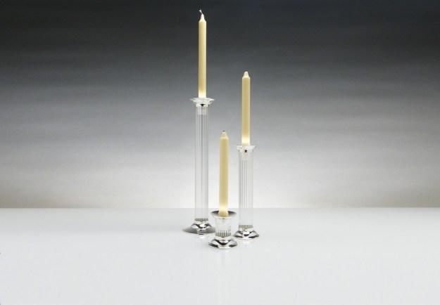 Flute Candlesticks