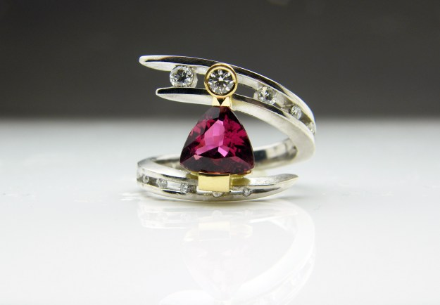 Juno Pink Tourmaline Ring