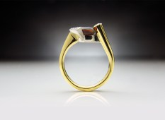 Hessonite Ring